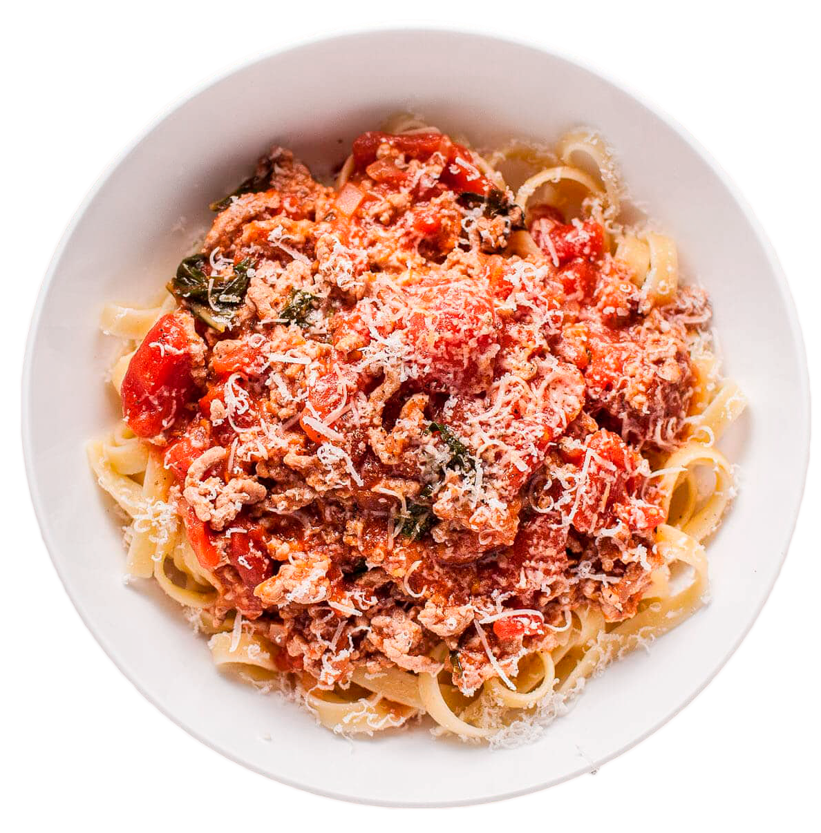 Спагетти с рагу «Болоньезе»